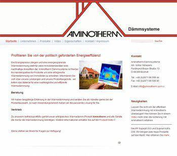 Aminotherm Daemmsystemme