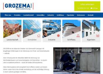 GROZEMA ist ein bekannter Anbieter von Dämmstoff-Lösungen