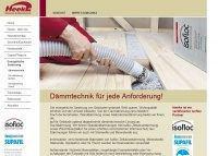 Heeke Zimmerei & Holzbau Dämmtechnik für jede Anforderung!