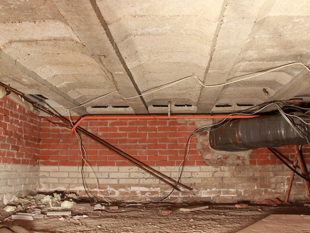 Dammung Projekt Oldenburg Der Zweigeteilte Keller Dieses Hauses